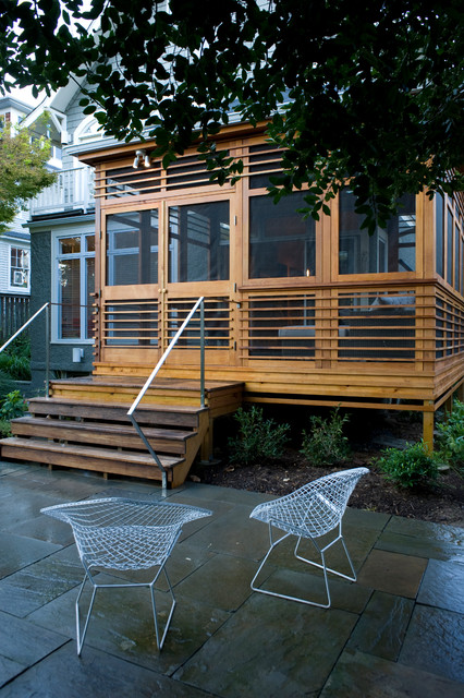 Screen Porch Addition Modern Porch Dc Metro By