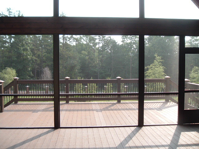 Screen Porch and Deck
