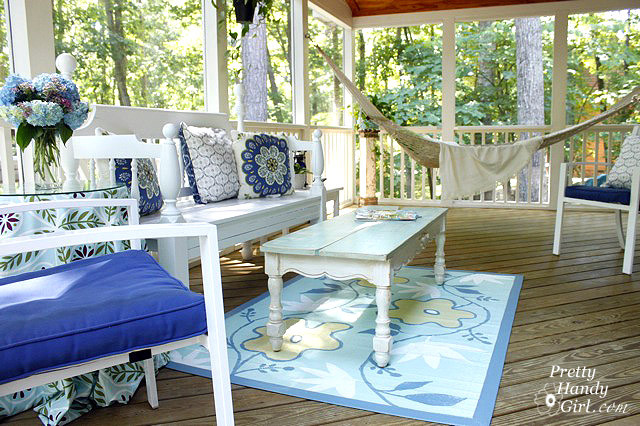 Screen Porch eclectic-porch