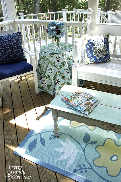 Screen Porch eclectic porch