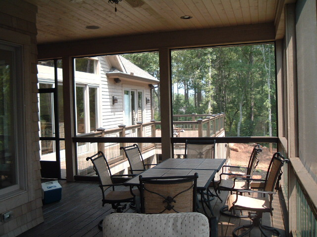 Screen Porch Glass Balusters