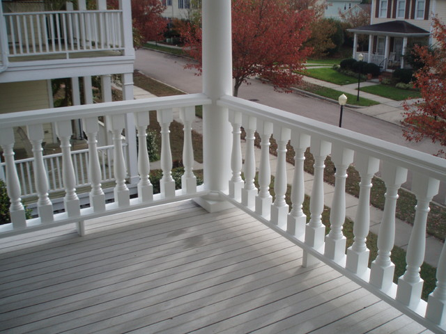 Screen Porches, Decks and Outdoor Living traditional-porch