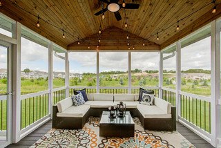 Screen Porches Transitional Porch Other By Premier