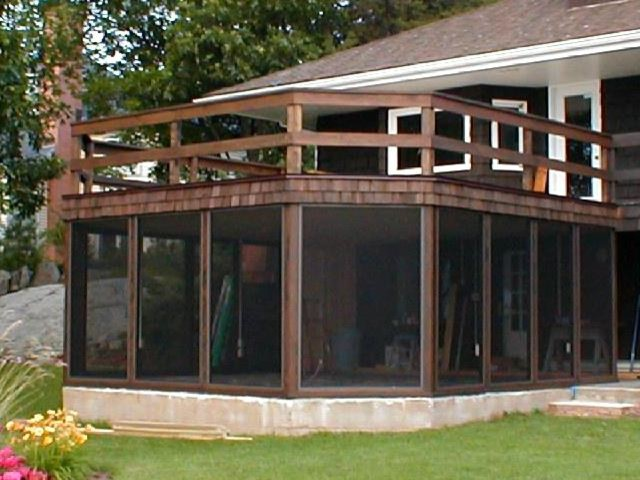 Screen Wall System porch