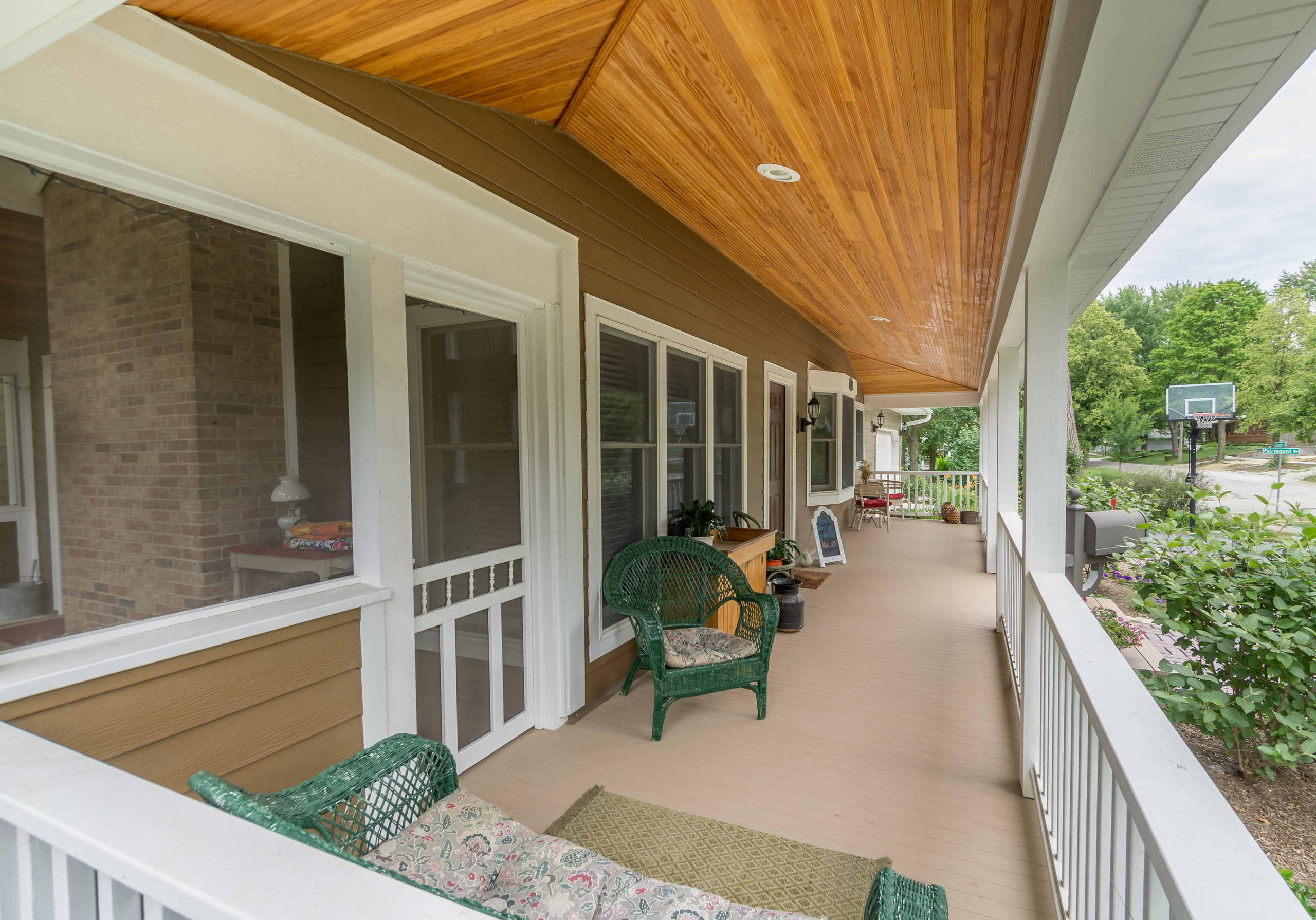 Screened & Wrap-around Porch