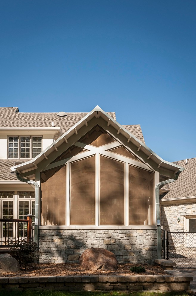 This is an example of a traditional porch design in Indianapolis.