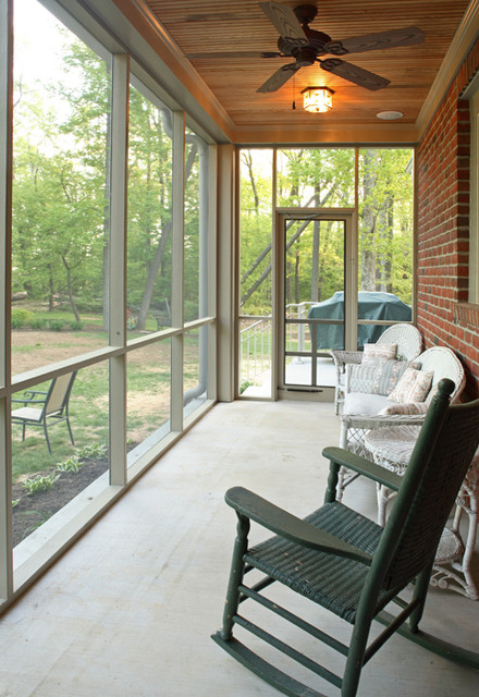 Screened Porch Howard County Md Craftsman Porch