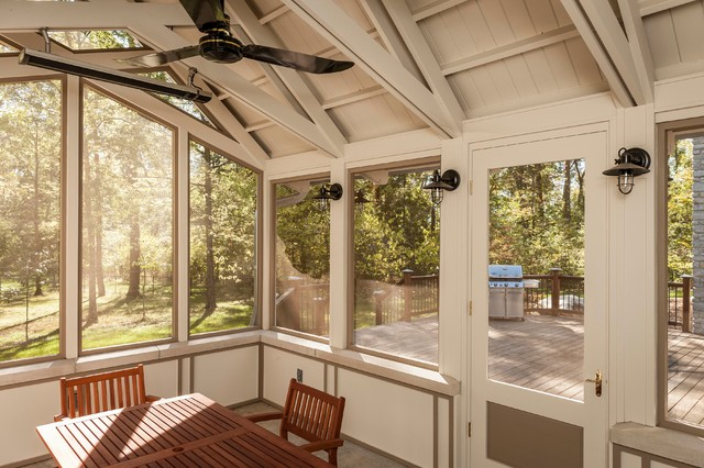 Interior Screened Porch : Screened porch interior traditional other by