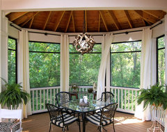 Screened Porch Sanctuary traditional porch