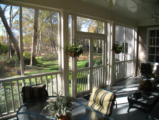 The Screen Porch Traditional Bedroom Atlanta By