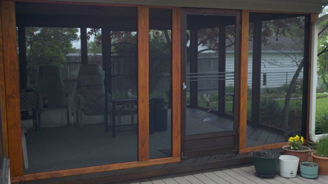 Screened Porches and Patio enclosures eclectic-porch
