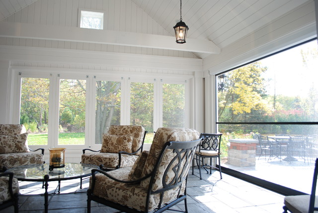 Screened Porches traditional-porch