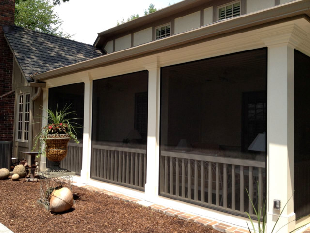 Screeneze Installs Traditional Porch Other Metro
