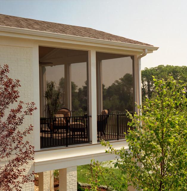 SCREENEZE Installs traditional-porch