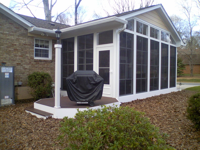 Seabrook avenue three season room and deck traditional for What is a 3 season porch