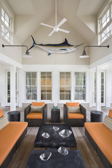 Seabrook Island Contemporary contemporary porch