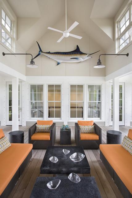 Seabrook Island Contemporary contemporary-porch