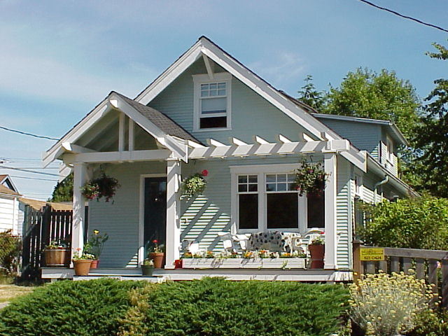 Seattle Exterior Facelift Craftsman Porch Seattle By Shuler Architecture