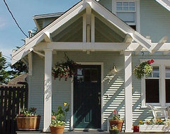 Seattle Exterior Facelift craftsman-porch