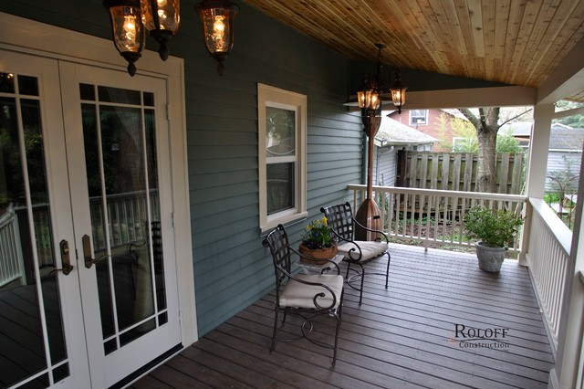 Sellwood Garage And Back Porch Craftsman