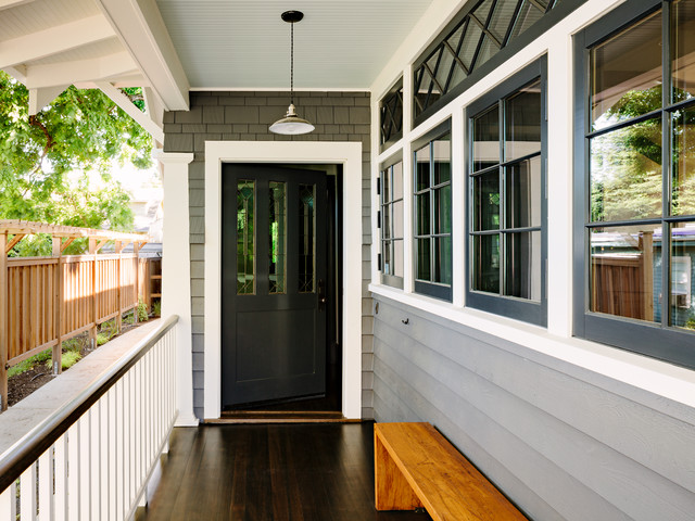 Sellwood Library House Craftsman Porch Portland By
