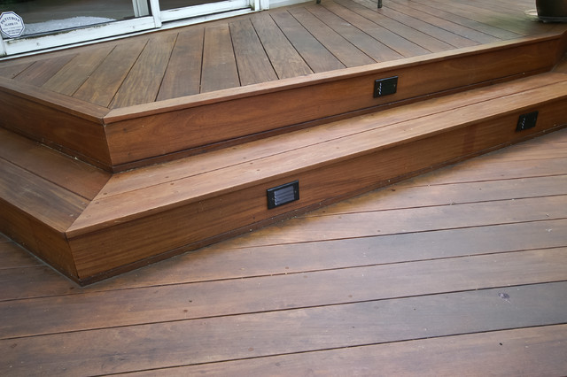 Severna Park Ipe deck traditional-porch