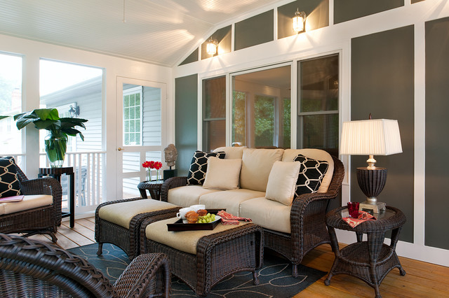 Shelley rodner eclectic porch dc metro by for Houzz interior design ideas