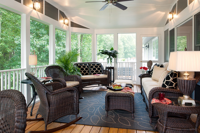Shelley Rodner Traditional Porch Dc Metro By Decorating Den
