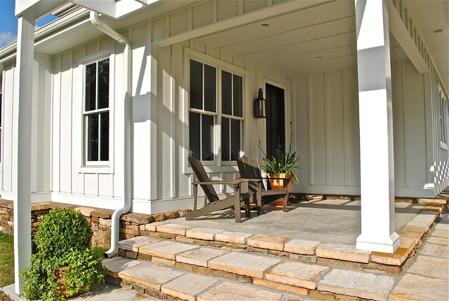Cement Board And Batten Siding : Sideco traditional porch little rock by inc