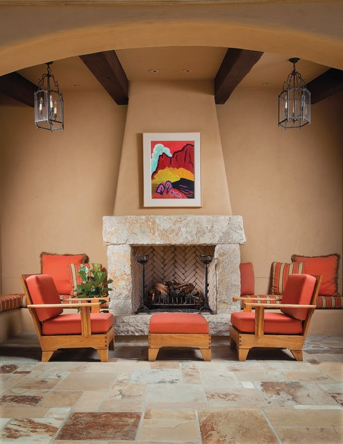 Silverleaf North Scottsdale Arizona Mediterranean Patio Phoenix by