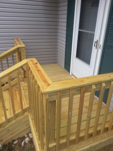 Small Wood Porch