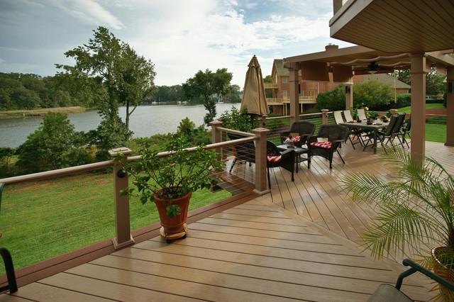 South River Azek deck traditional-porch