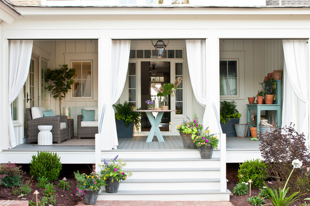 Marvelous Southern Living Idea House 2012 (Senoia, Georgia) Traditional Porch Gallery