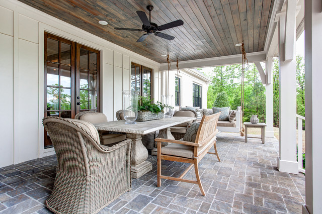 Southern Living Idea House Transitional Porch