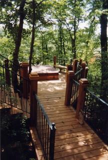 Spa Decks - Traditional - Porch - kansas city - by Outdoor Environments Inc