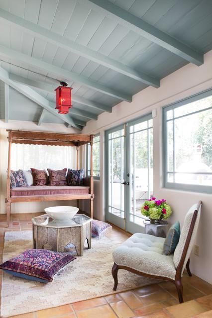 Spanish Bohemian in South Pasadena - Mediterranean - Porch - los angeles - by Charmean Neithart ...