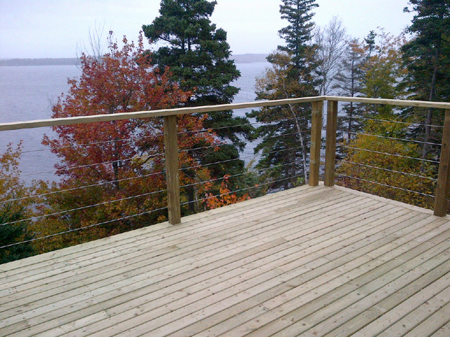 Stainless Steel Cable Railing Systems Modern Veranda Portland By Stainless Cable