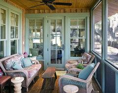 Stephanie's Cottage rustic-porch