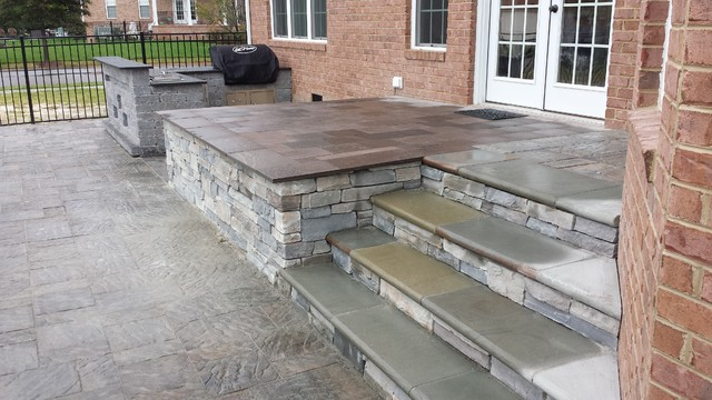stone veneer porch traditional veranda other by affordable