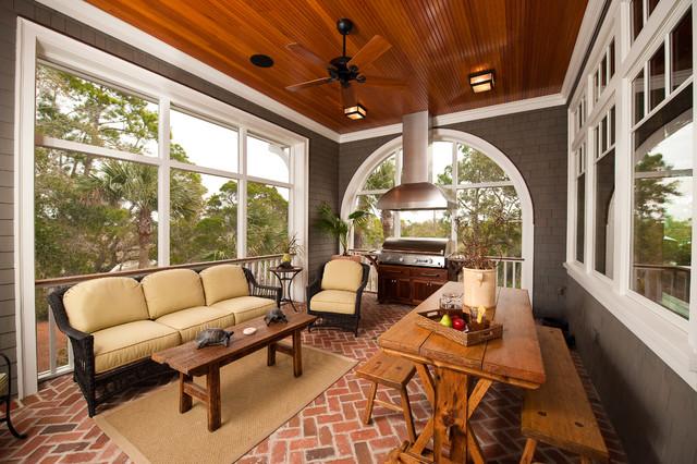 Kiawah Island Preserve Riverfront traditional-porch