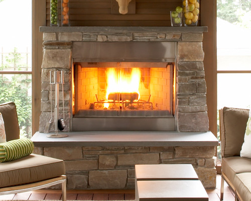 Love This Fireplace If This Was A Prefab Fireplace Insert Would You Reveal The Manufacturer