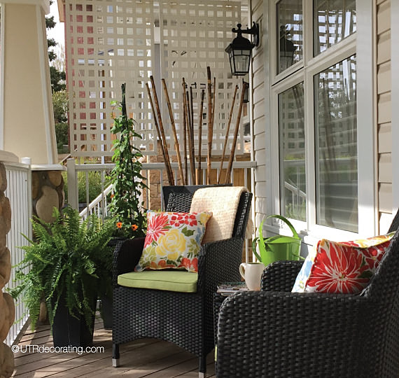 Styling The Space Contemporary Veranda Calgary By Under The Roof Decorating