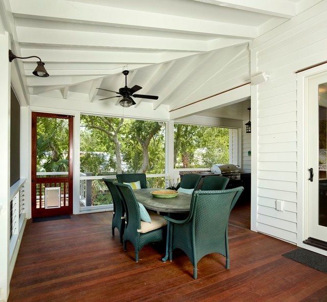 Sullivan's Island Renovation traditional-porch