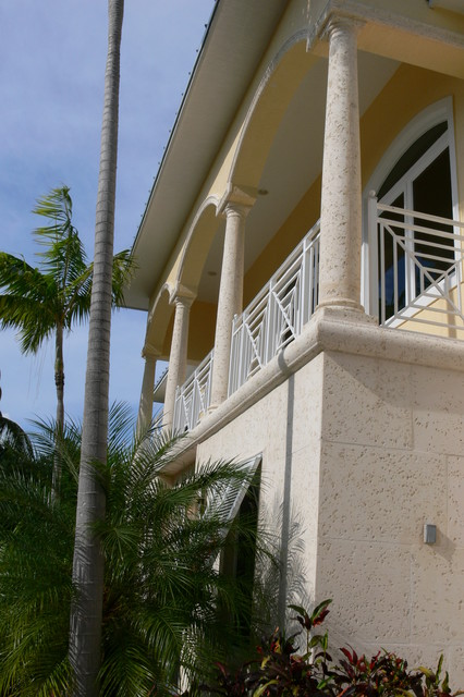 Summerland West Indies home tropical-porch