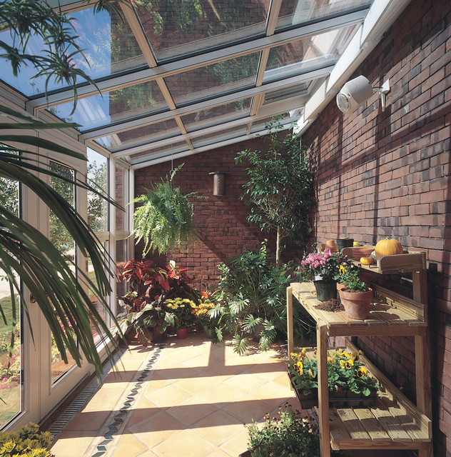 Merveilleux Sun And Stars: Straight Eave Glass Sunroom Traditional Porch