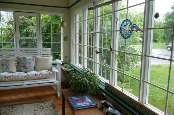 Sunporch ReDesign eclectic-porch