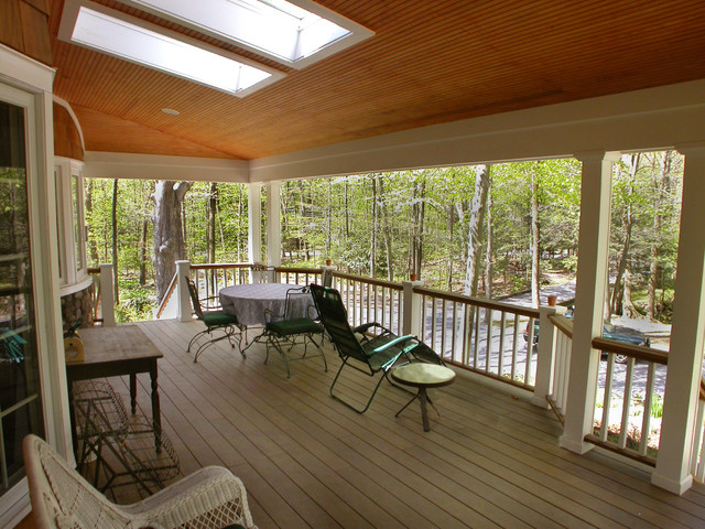 Sunrise Decks/Screened Porches traditional-porch