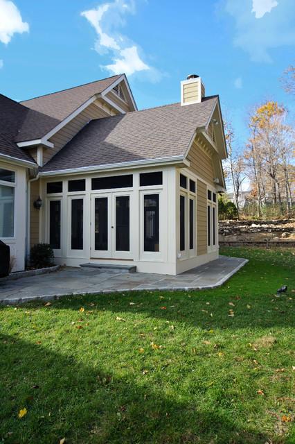 Sunrise Decks/Screened Porches traditional-porch