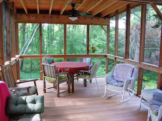 Sunroom and Screened Porches eclectic-porch