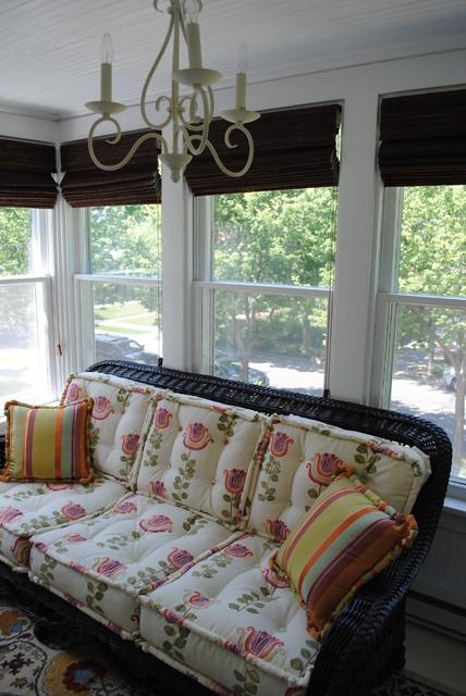 Sunroom traditional-porch